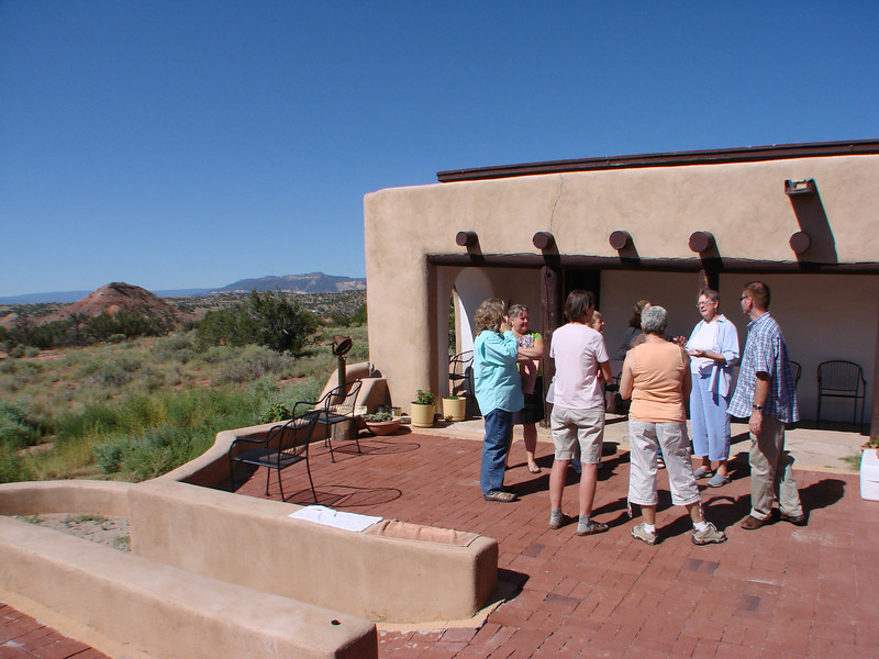 we meet in smaller groups, http://stillpointca.org/ghostranch.html http://www.ghostranch.org/courses-and-retreats/stillpoint