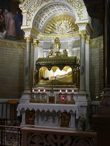 St. John Vianney altar