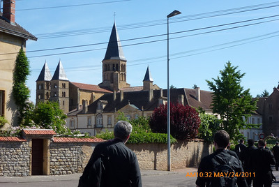The main chuch in Paray le Monial