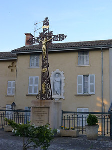 Crucifix near the basilica