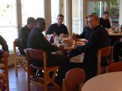 Fr. Eric, Tafadzwa, Kurt, Bryan, Fr. Jerome