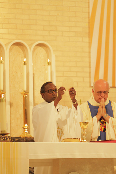 The first Mass of Father Isak Keyman-Ige of Somalia