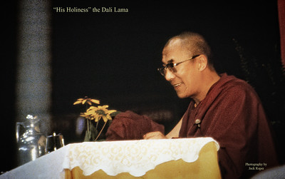 """His Holiness"" the Dali Lama- Tibetan Buddhist figure"