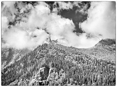 Mountain View from Hotel @ Rakcham, HP, India
