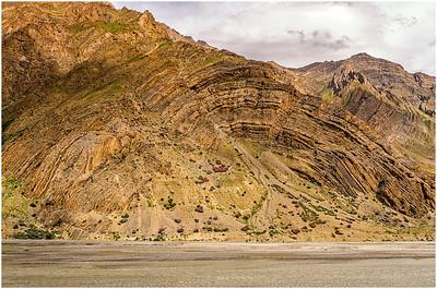 """Arc Rock"", Dhankar Pin Valley, HP, India"