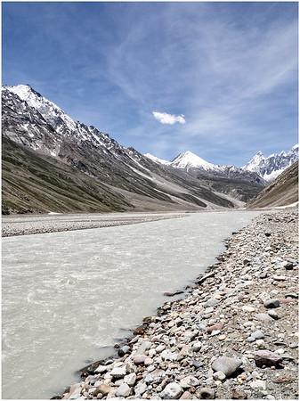 Kaza Mountain-scape, HP, India