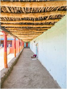 Komik Monastery Hallway, HP, India