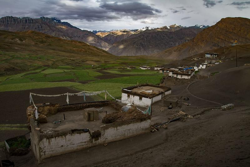 Langza village (Spiti).