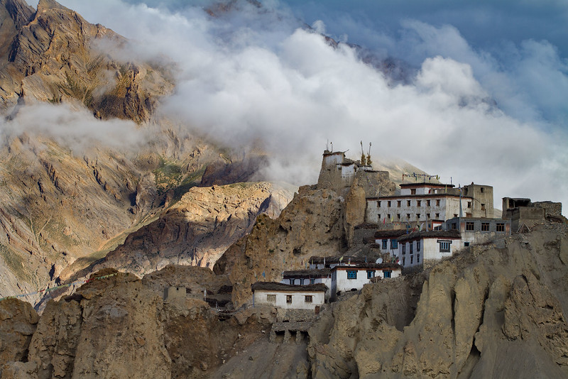 Dhankar monastery (Spiti).