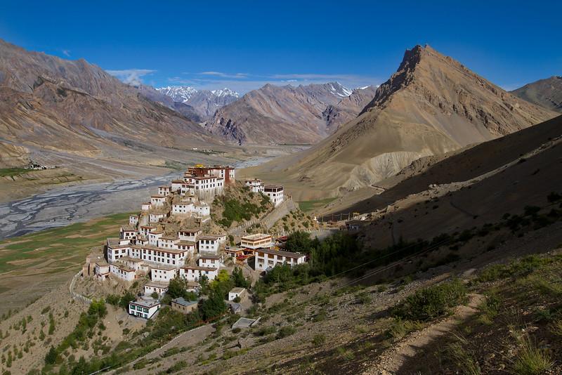 The Ki/Kye monastery (Spiti).