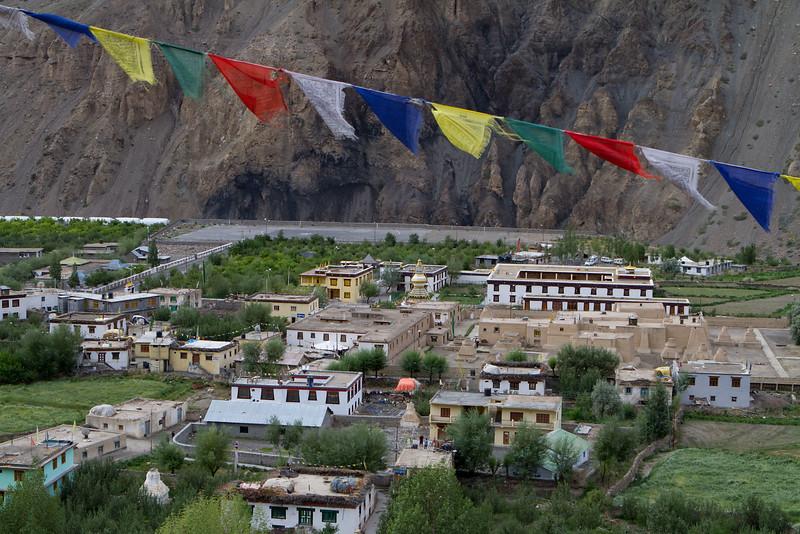 Tabo monastery and village (Spiti).