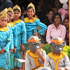 Young boys performed the famous Monkey dance.