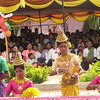 We were entertained with a traditional Khmer dance performance by children from a local orphanage.