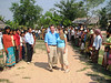 In March, 2006 Danny and Pam Spitler returned to Cambodia to Ang Chagn Chass to visit their school.  They received a very warm welcome from the villagers.