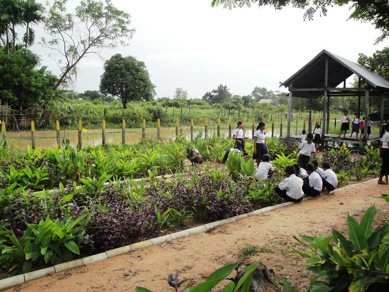 the Spitler School Garden