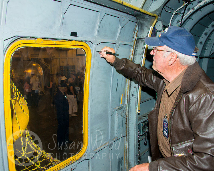 Splashdown 45 on the USS Hornet