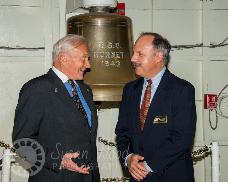 Splashdown 45 with Buzz Aldrin on the USS Hornet