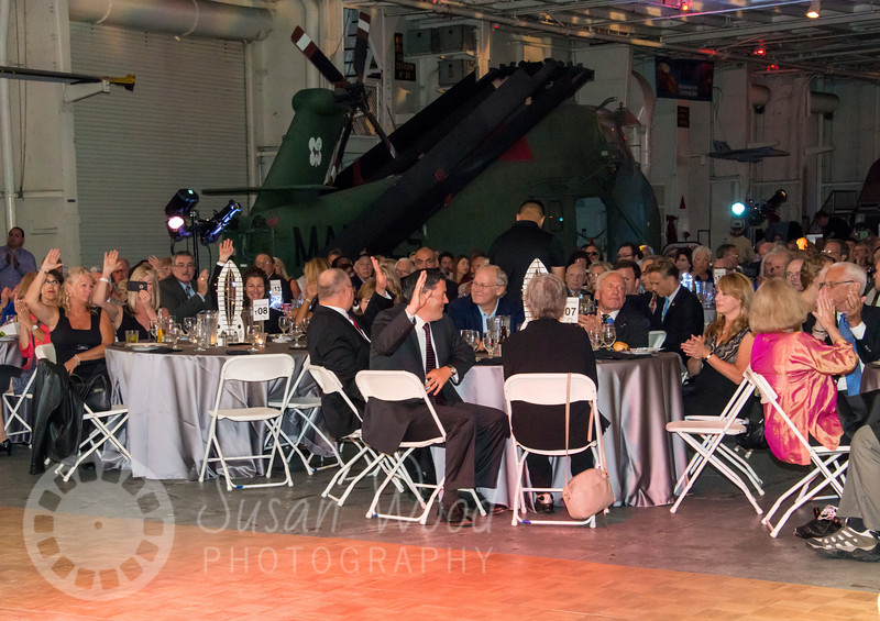 Splashdown 45 Evening Event on the USS Hornet