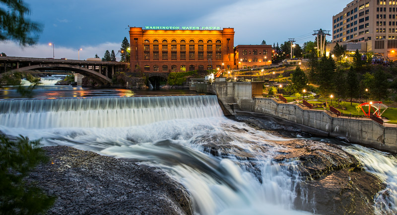 Lower Spokane Falls
