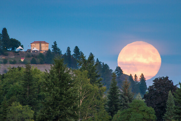 Arbor Crest Winery Moonrise