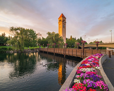 Spokane in Summer