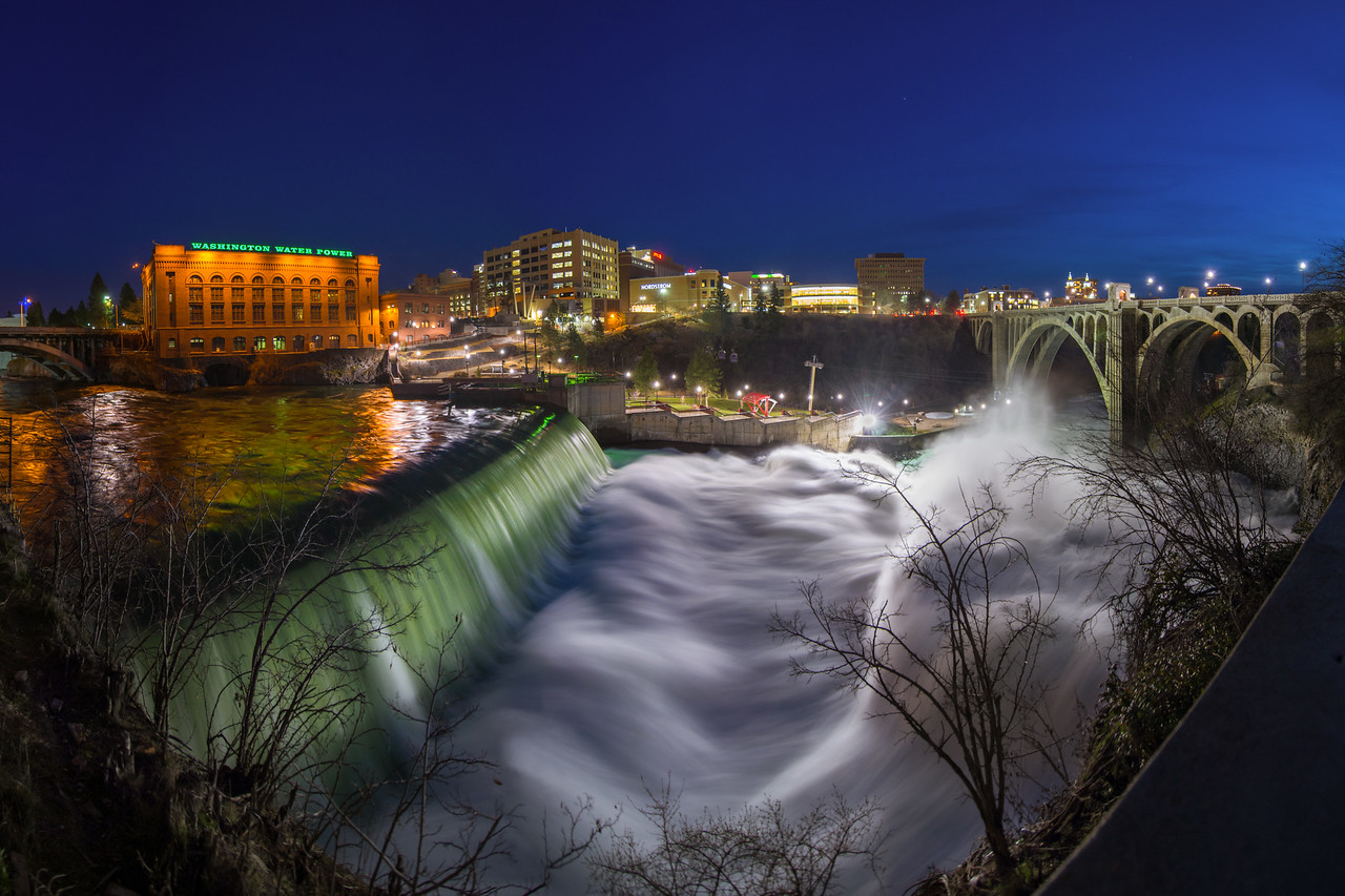 Spokane Falls (Alternate Aspect Ratio)
