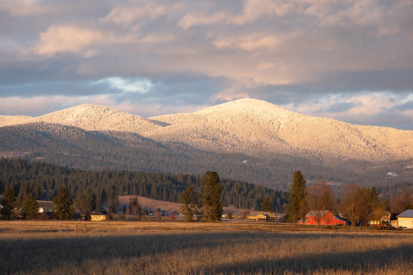 Mount Spokane in Winter