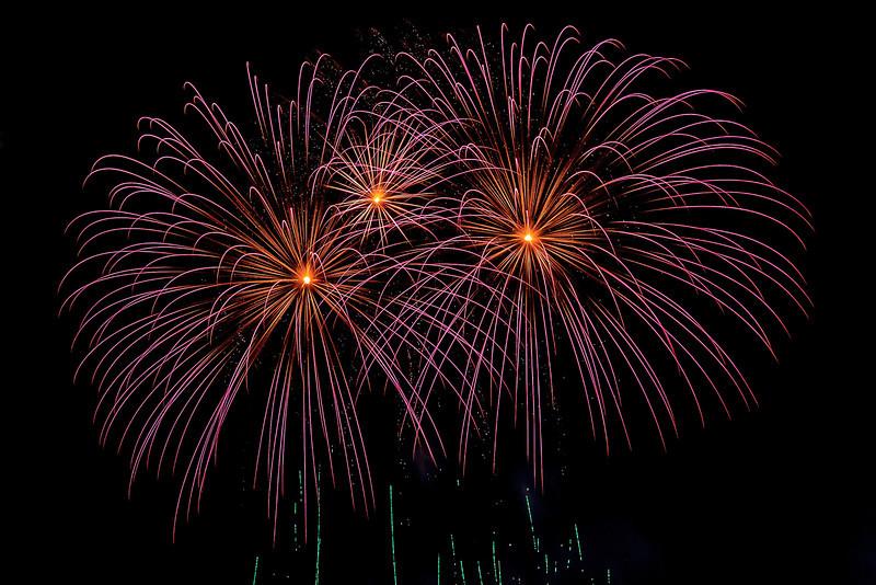 Fireworks in River Front Park
