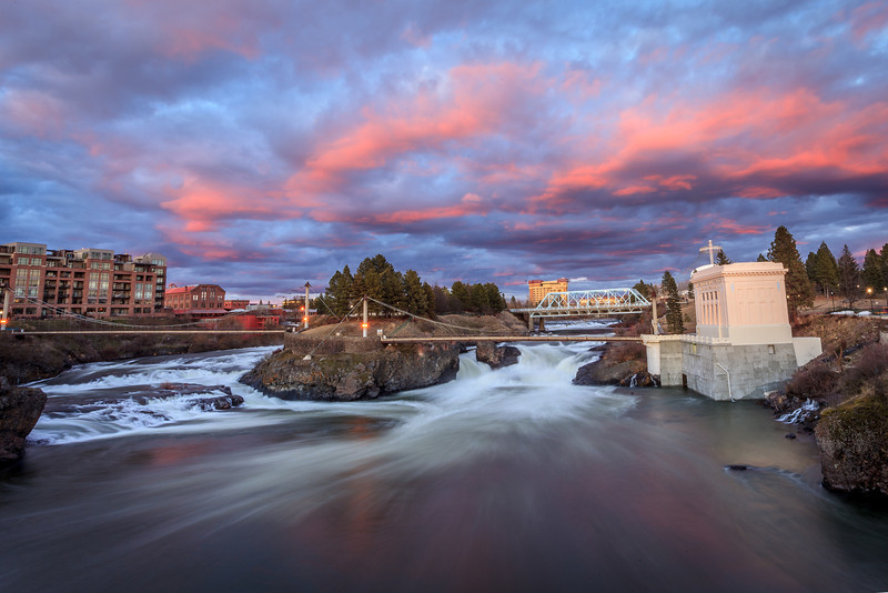 Spokane River at River Front Park