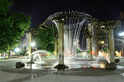 Downtown Spokane Fountain