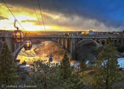 March 2 (iPhone sunset on bridge) 089-Edit