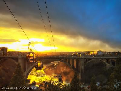 March 2 (iPhone sunset on bridge) 101-Edit