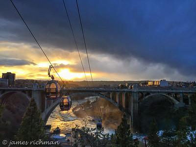 March 2 (iPhone sunset on bridge) 098-Edit