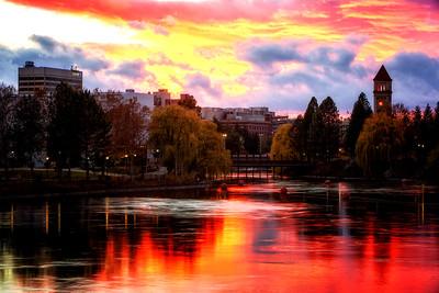 November 12 (Spokane River Sunset) 047-Edit-2