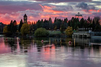 November 12 (Spokane River Sunset) 028-Edit-2
