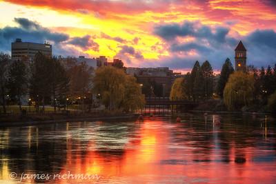 November 12 (Spokane River Sunset) 054-Edit-2