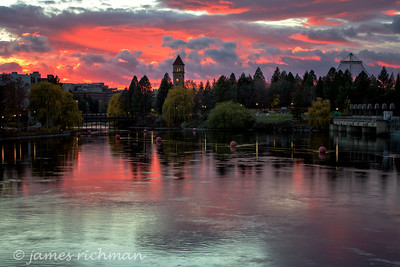 November 12 (Spokane River Sunset) 033-Edit-2