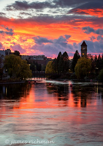 November 12 (Spokane River Sunset) 038-Edit-2