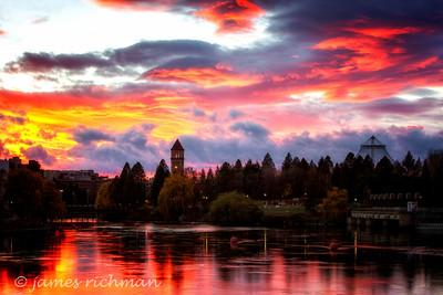November 12 (Spokane River Sunset) 040-Edit-2