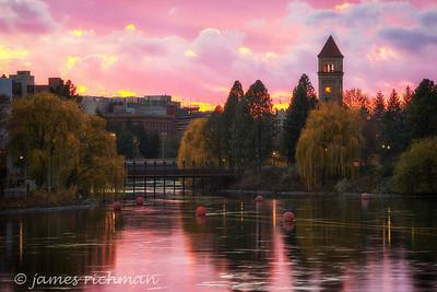 November 12 (Spokane River Sunset) 031-Edit-2-2