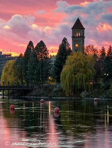 November 12 (Spokane River Sunset) 031-Edit-2