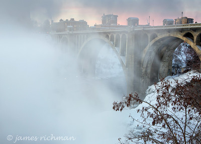 January 14 (Spokane River Sunrise) 027-Edit
