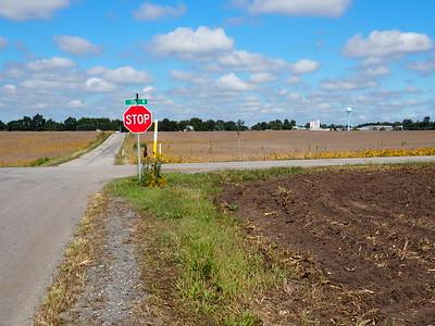 Looking north toward Rolling Prairie