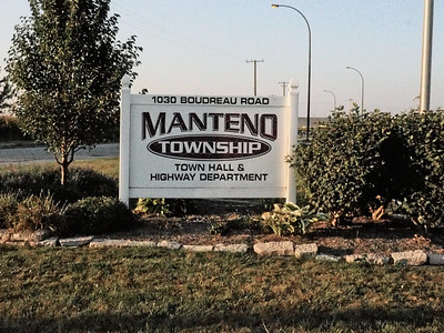 Manteno Township sign