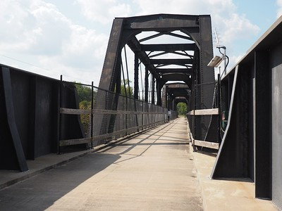 Bicycle Bridge over the Kankakee River