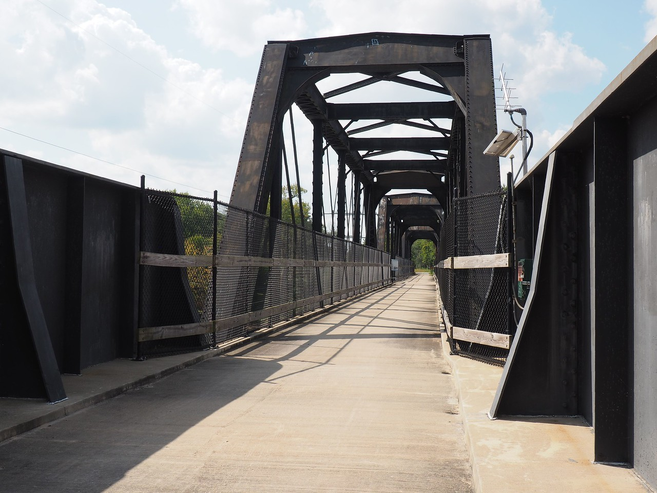 Bicycle Bridge over the Kankakee River