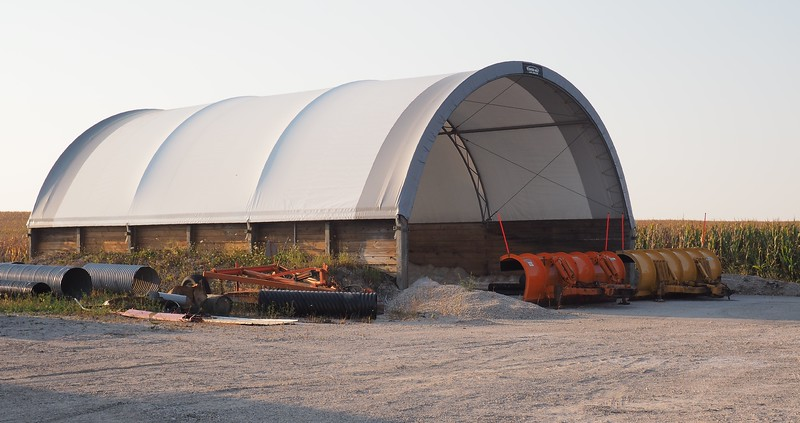 Manilus Township Salt and Gravel Storage