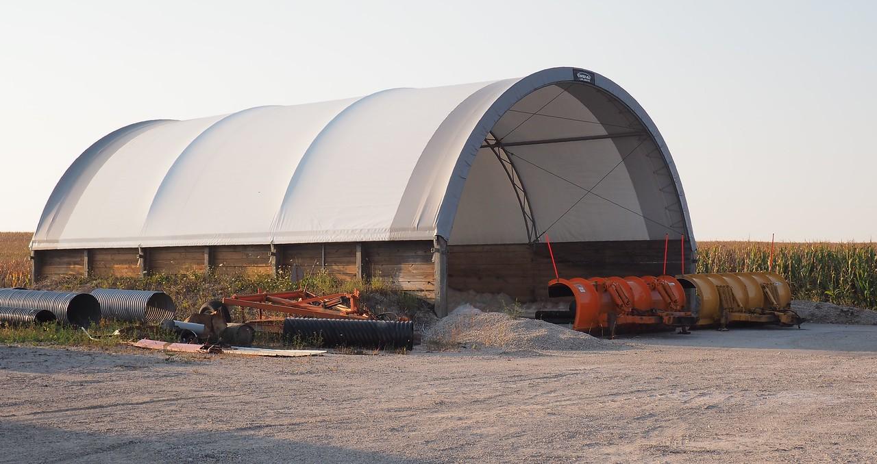 Manilus Township Salt and Gravel Storage