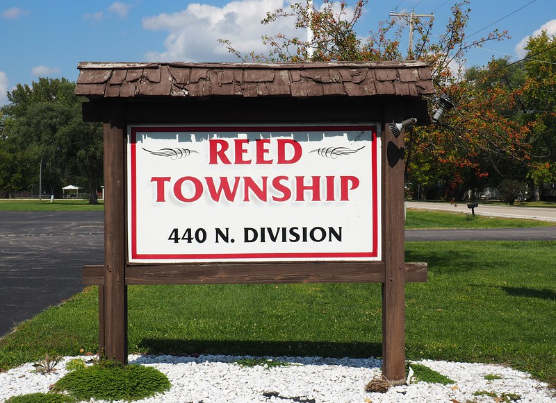 Reed Township sign