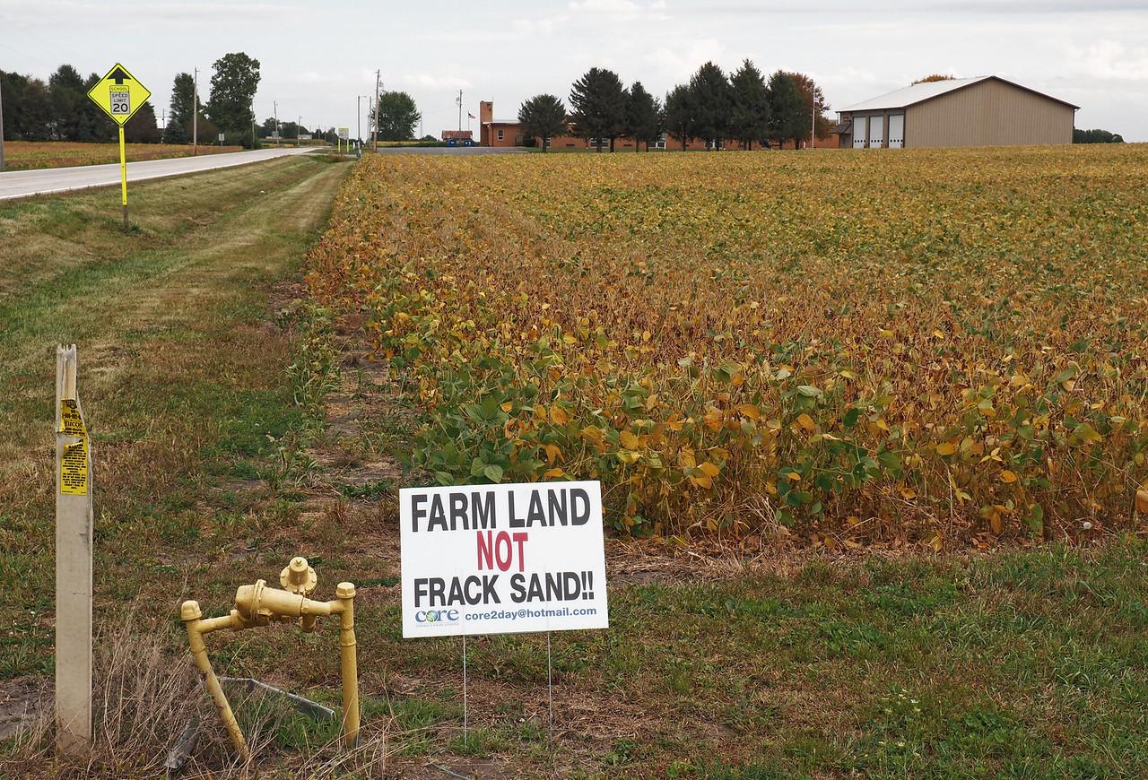 Farm Land Not Frack Sand!!